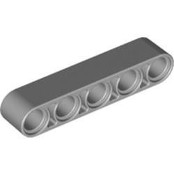 Light Bluish Gray Technic, Liftarm 1 x 5 Thick - new