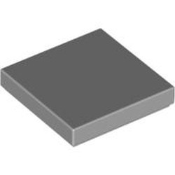 Light Bluish Gray Tile 2 x 2 with Groove