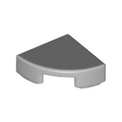 Light Bluish Gray Tile, Round 1 x 1 Quarter - new