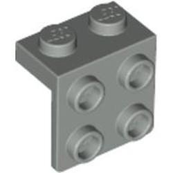 Light Gray Bracket 1 x 2 - 2 x 2 - used