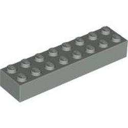 Light Gray Brick 2 x 8