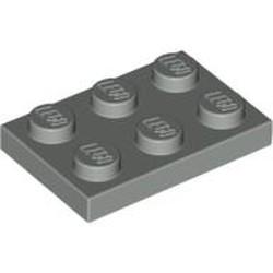Light Gray Plate 2 x 3