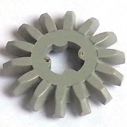 Light Gray Technic, Gear 14 Tooth Bevel - used