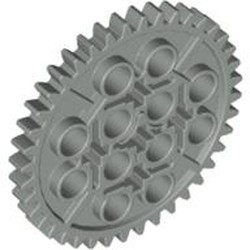 Light Gray Technic, Gear 40 Tooth - used
