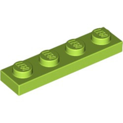Lime Plate 1 x 4