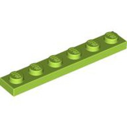 Lime Plate 1 x 6