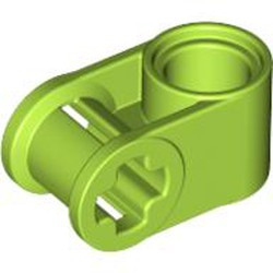 Lime Technic, Axle and Pin Connector Perpendicular