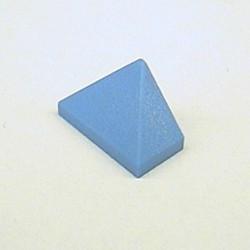 Medium Blue Slope 45 2 x 1 Triple with Bottom Stud Holder