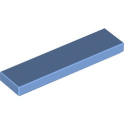 Medium Blue Tile 1 x 4 - new