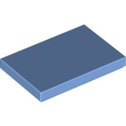 Medium Blue Tile 2 x 3 - new