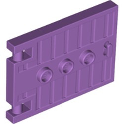 Medium Lavender Door 1 x 5 x 3 with 3 Studs and Handle - new