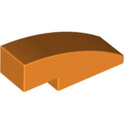 Orange Slope, Curved 3 x 1