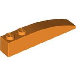 Orange Slope, Curved 6 x 1