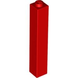 Red Brick 1 x 1 x 5 - Solid Stud