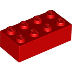 Red Brick 2 x 4