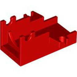 Red Projectile Launcher Part, Cannon Base 2 x 4 - new