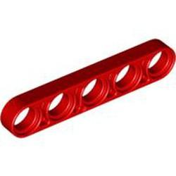 Red Technic, Liftarm Thin 1 x 5
