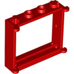 Red Window 1 x 4 x 3 - used