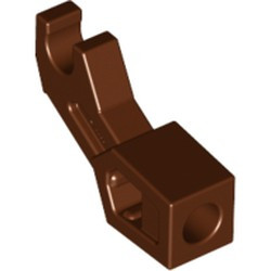 Reddish Brown Arm Mechanical, Exo-Force / Bionicle, Thick Support - new