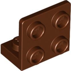 Reddish Brown Bracket 1 x 2 - 2 x 2 Inverted - new