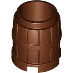 Reddish Brown Container, Barrel 2 x 2 x 2