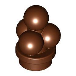 Reddish Brown Ice Cream Scoops