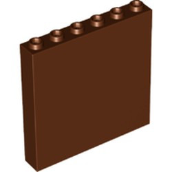 Reddish Brown Panel 1 x 6 x 5