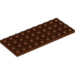 Reddish Brown Plate 4 x 10 - new