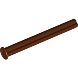 Reddish Brown Technic, Axle 5 with Stop - new