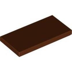 Reddish Brown Tile 2 x 4