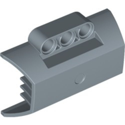 Sand Blue Technic, Panel Engine Block Half / Side Intake