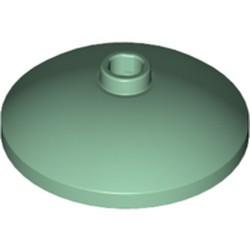 Sand Green Dish 3 x 3 Inverted (Radar) - new