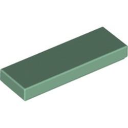 Sand Green Tile 1 x 3 - new