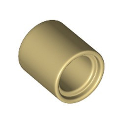 Tan Technic, Liftarm Thick 1 x 1 - [Formerly Connector Pin Round (1L Spacer) - new]