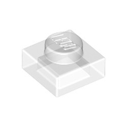 Trans-Clear Plate 1 x 1 - new