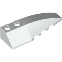 White Wedge 6 x 2 Right