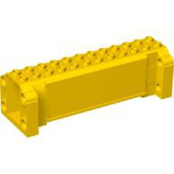 Yellow Crane Section 4 x 12 x 3 with 8 Pin Holes