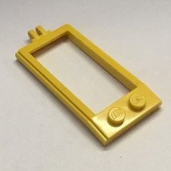 Yellow Horse Hitching with Hinge - used