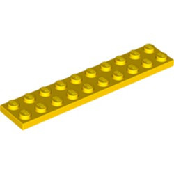 Yellow Plate 2 x 10