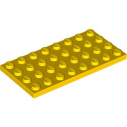 Yellow Plate 4 x 8