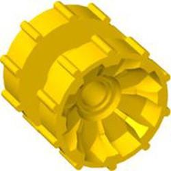 Yellow Technic Tread Hub - used