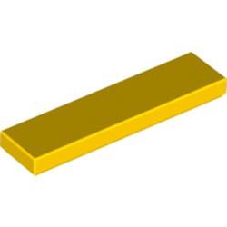 Yellow Tile 1 x 4 - new