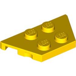 Yellow Wedge, Plate 2 x 4
