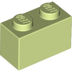 Yellowish Green Brick 1 x 2 - new