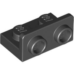 Black Bracket 1 x 2 - 1 x 2 Inverted - used