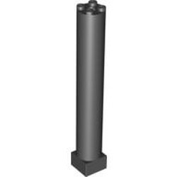 Black Support 2 x 2 x 11 Solid Pillar - used