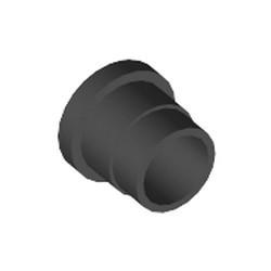 Black Technic, Hub / Handle 1 x 1 - used