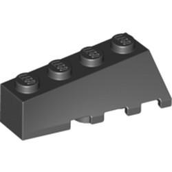 Black Wedge 4 x 2 Sloped Left - new