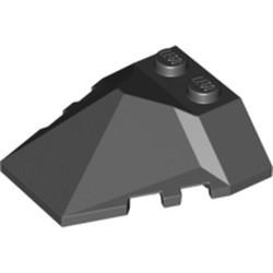 Black Wedge 4 x 4 Pyramid Center - used