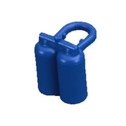 Blue Minifigure, Airtanks - used
